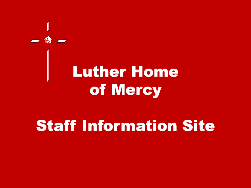 Luther Home Staff Portal